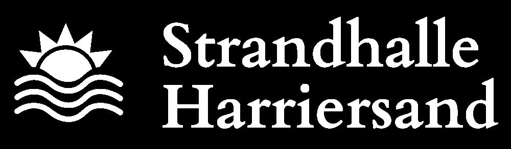 Strandhalle Harriersand Logo Hell
